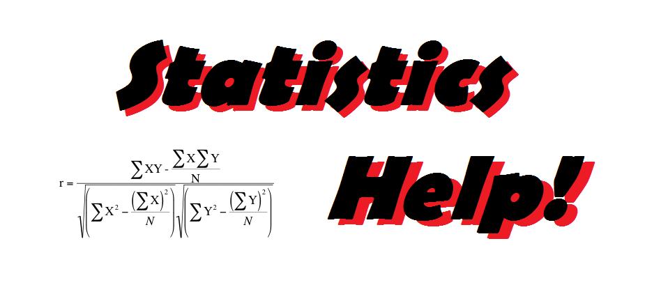 Statistical help